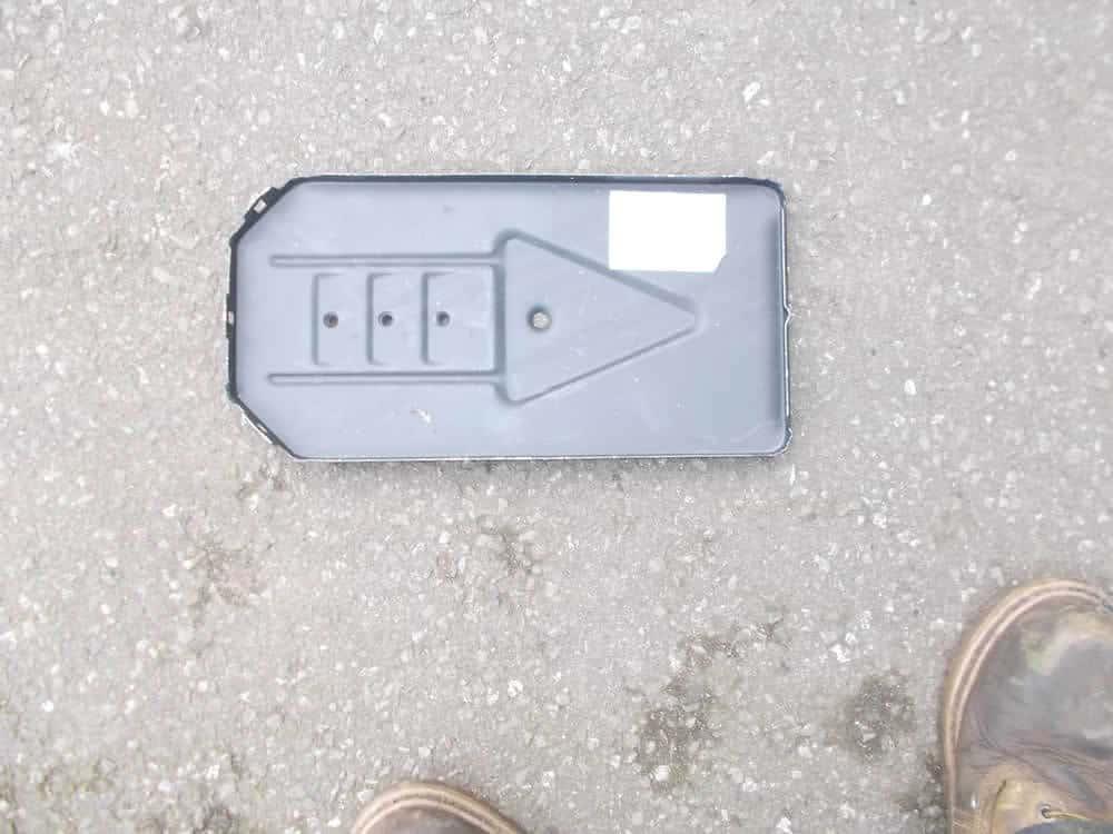 Battery tray MK2/3
