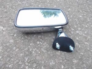 Passenger Door Mirror Mk2/3 Metal Body