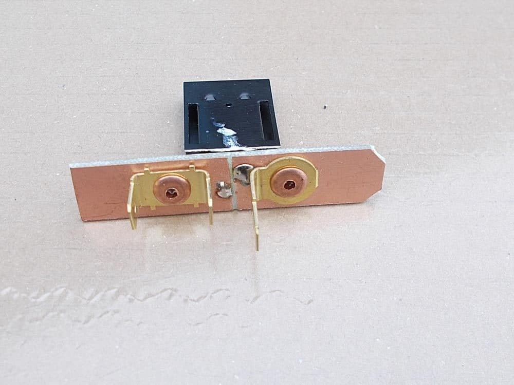 MK2/3. Heater motor variable speed resistor to fit the BEHR heater units.